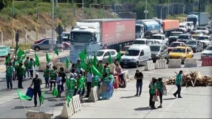 ATE, PROTESTA, puente cipolletti-neuquen