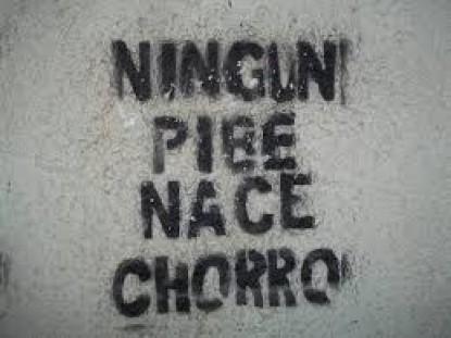 pibe, chorro