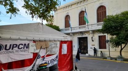 carpa upcn, Casa De Gobierno