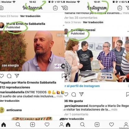 mario sabbatella, denuncia, redes sociales, MARIO DE REGE