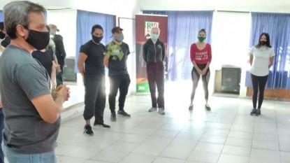ariel ávalos, danza