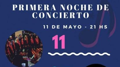 centro cultural II, noche concierto