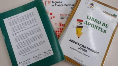 upcn, pase a planta permanente, manuales