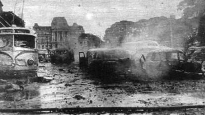 plaza de mayo, bombardeo
