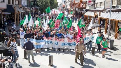 CTA, marcha, movilizacion, bariloche