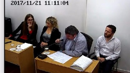 juicio, Abuso, rio colorado, sexual