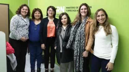 viedma, silbana cullumilla, monica silva, paola casadei, consejo local de personas con discapacidad, Silvia Calvo, Susana Matar, Juliana Vargas
