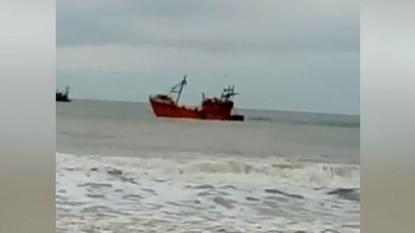 la baliza, barcos pesqueros
