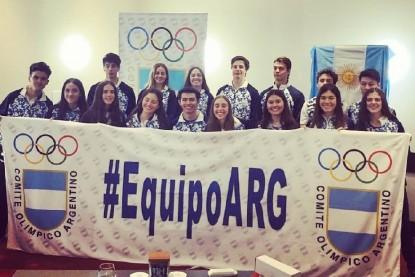 seleccion nacional, Juegos Olímpicos, juventud, INVIERNO, Sofía Saint Antonin, Pedro Cotaro, Mateo Sauma, Agustina Groetzner, Zoe Ojeda